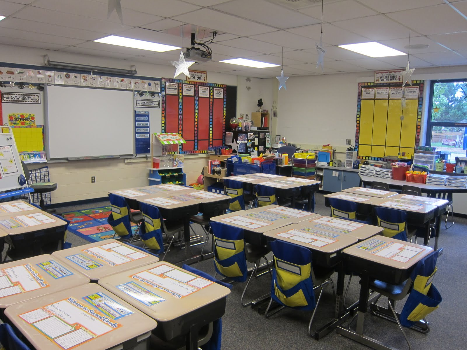 Classroom Ideas Second Grade ~ What happens in nd grade classroom tour