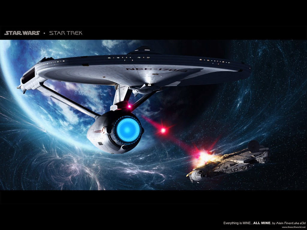 win star trek or star wars usb stick with the march geek. Black Bedroom Furniture Sets. Home Design Ideas