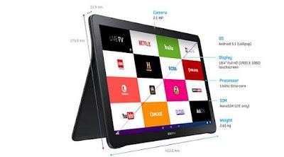 [Tekno] Samsung Umumkan Tablet Jumbo Galaxy View 18,4 Inci
