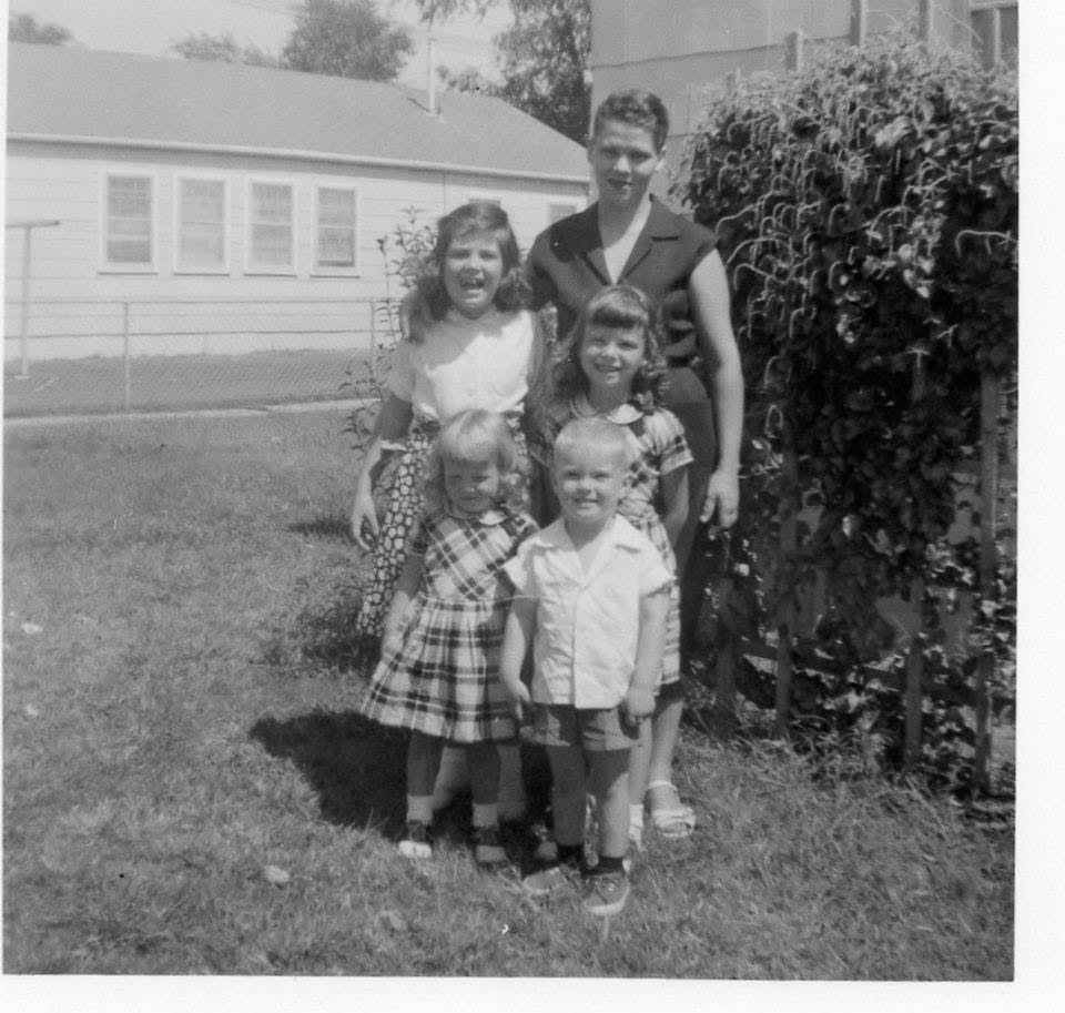 Virginia/Grandma & Her 3 Daughters/ youngest My Mother &  her first boyfriend/ The Toad.
