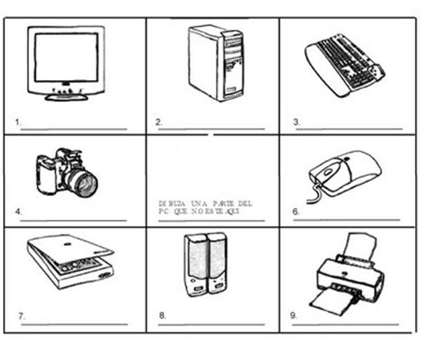 dibujos para colorear por computadora: