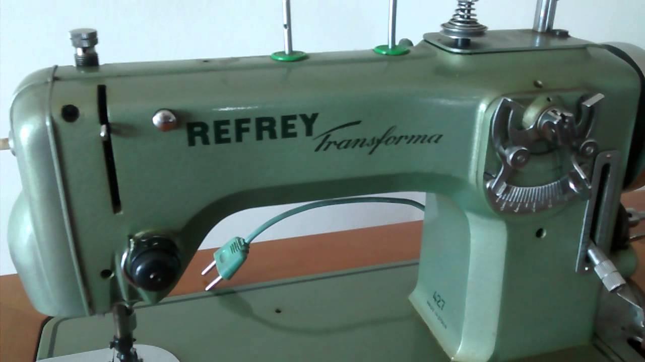 Máquina de coser Refrey, analisis de esta marca - EXPLICO