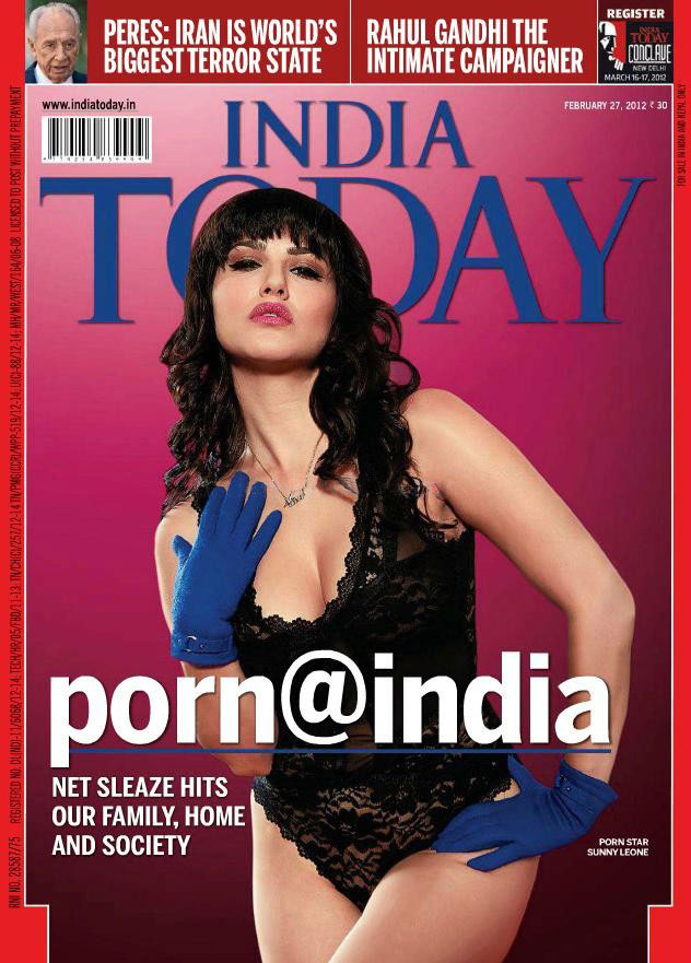 Sunny Leone  India Today Magazine Cover Girl1 - Sunny Leone India Today Cover Scan