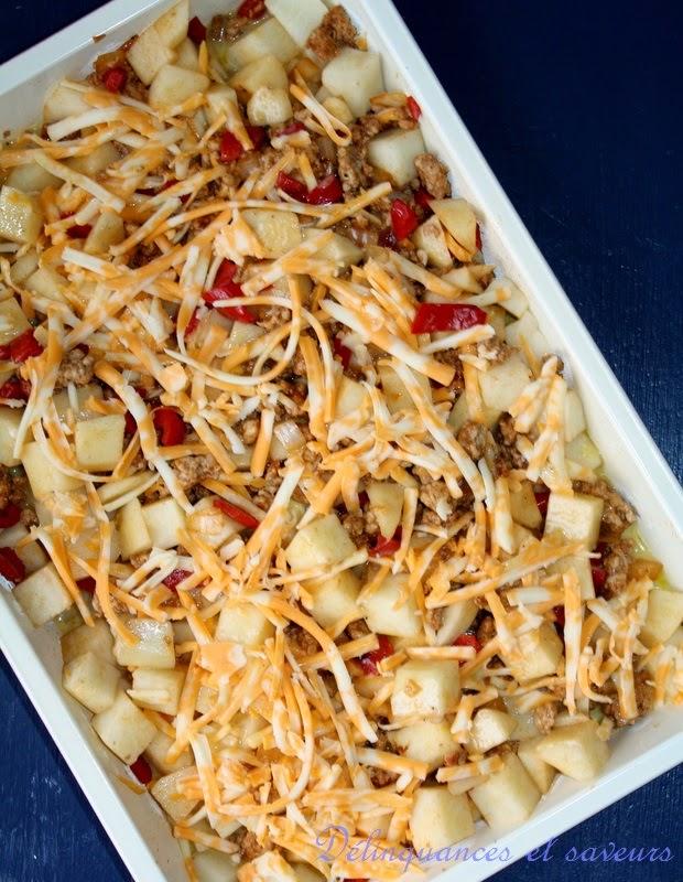 D linquances et saveurs casserole d jeuner - Pomme de terre au four papier alu ...