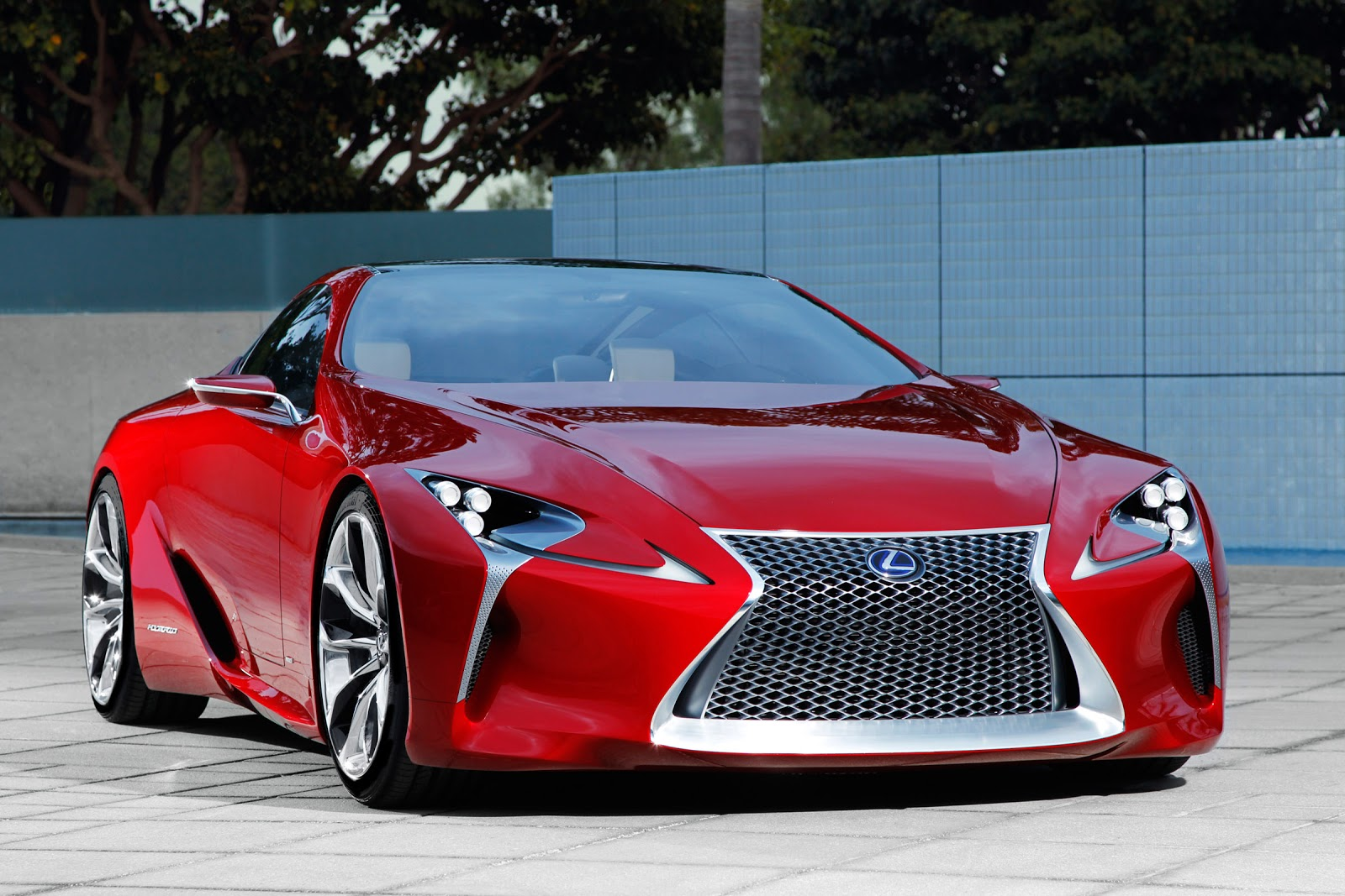 cars gto 2012 lexus lf lc sport coupe concept. Black Bedroom Furniture Sets. Home Design Ideas
