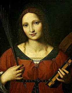 Catherine Wheel band name inspiration - Bernardino_Luini_-_Saint_Catherine