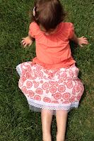 make a skirt from a shirt