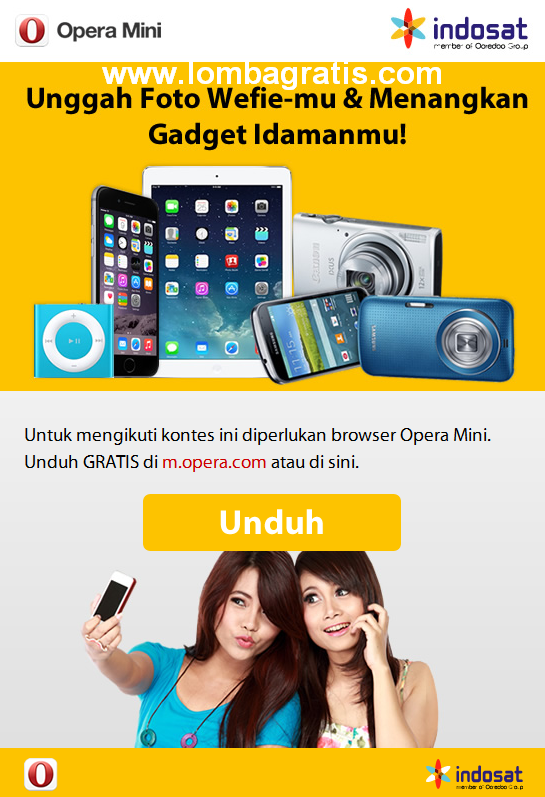 Lomba Foto Berhadiah 1 Paket Gadget Apple (iphone 6, ipad air, ipod)