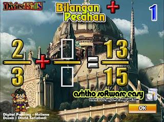 Game Bilangan Pecahan - Game Edukasi