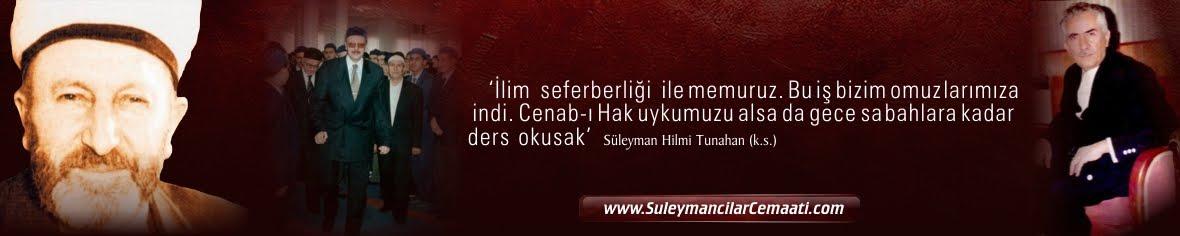 Süleymancılar Cemaati | Akademi Dergisi | Mehmet Fahri Sertkaya