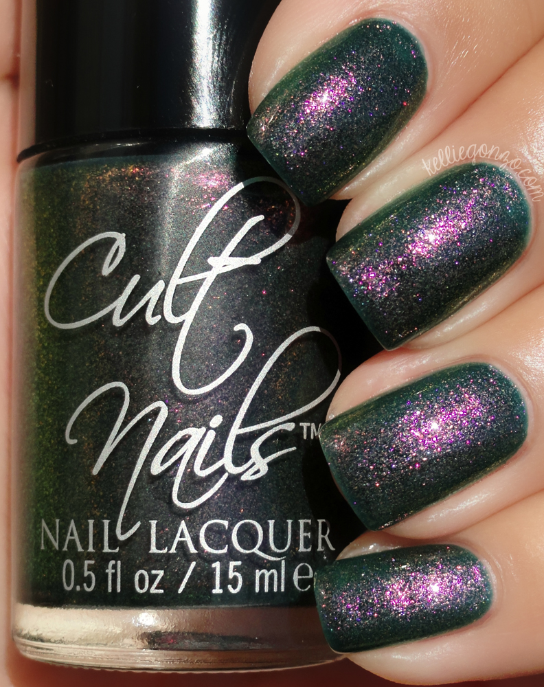 Cult Nails - Masquerade by kelliegonzo
