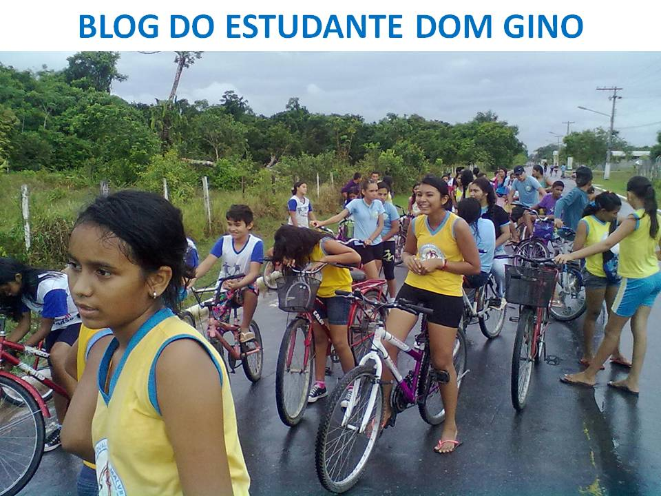 "Blog do Estudante ""DOM GINO"""