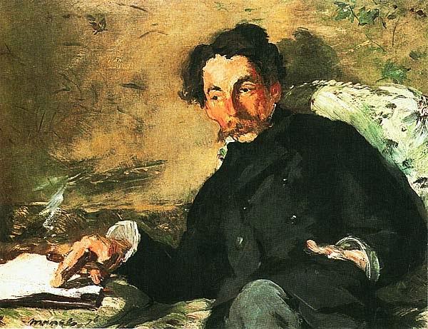 Эдуар Мане. Портрет Стефана Малларме. 1876.