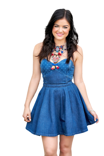 Photo Editing Material : Lucy Hale PNG
