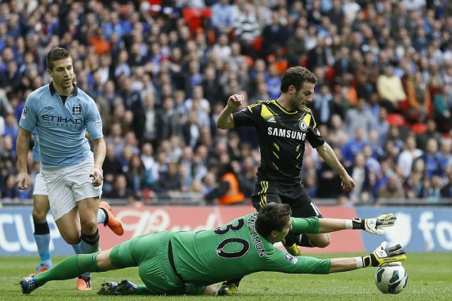 Chelsea vs Man City 1-2: Hasil FA Cup 2013