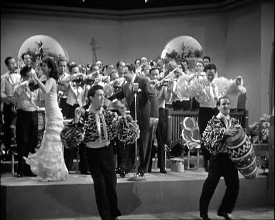 The Xaviar Cugat Band in You Were Never Lovelier, Columbia 1942