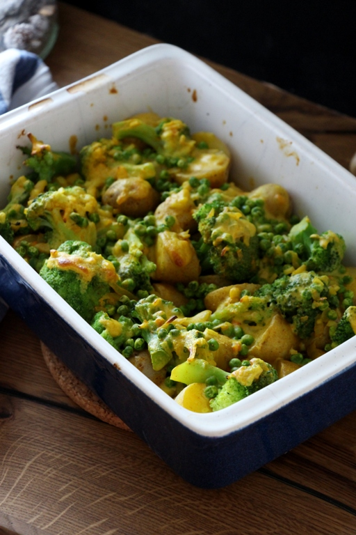 Veganer Kartoffelauflauf