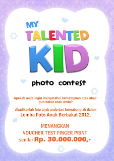 My Talented Kid Photo Contest dunialombaku.blogspot.com
