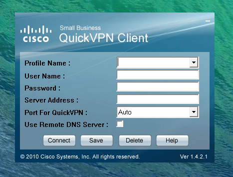 linksys quickvpn client windows 7