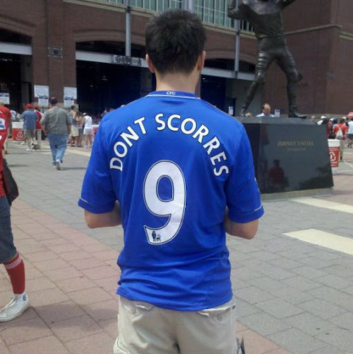 Chelsea's No 9 jersey belong to...wait,what?!