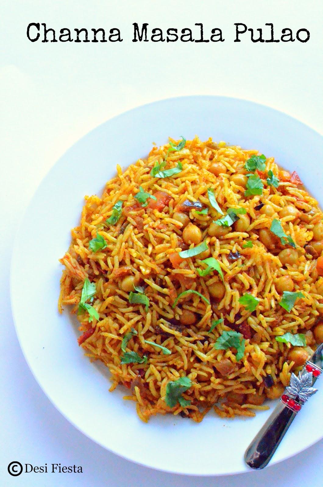 Channa recipes
