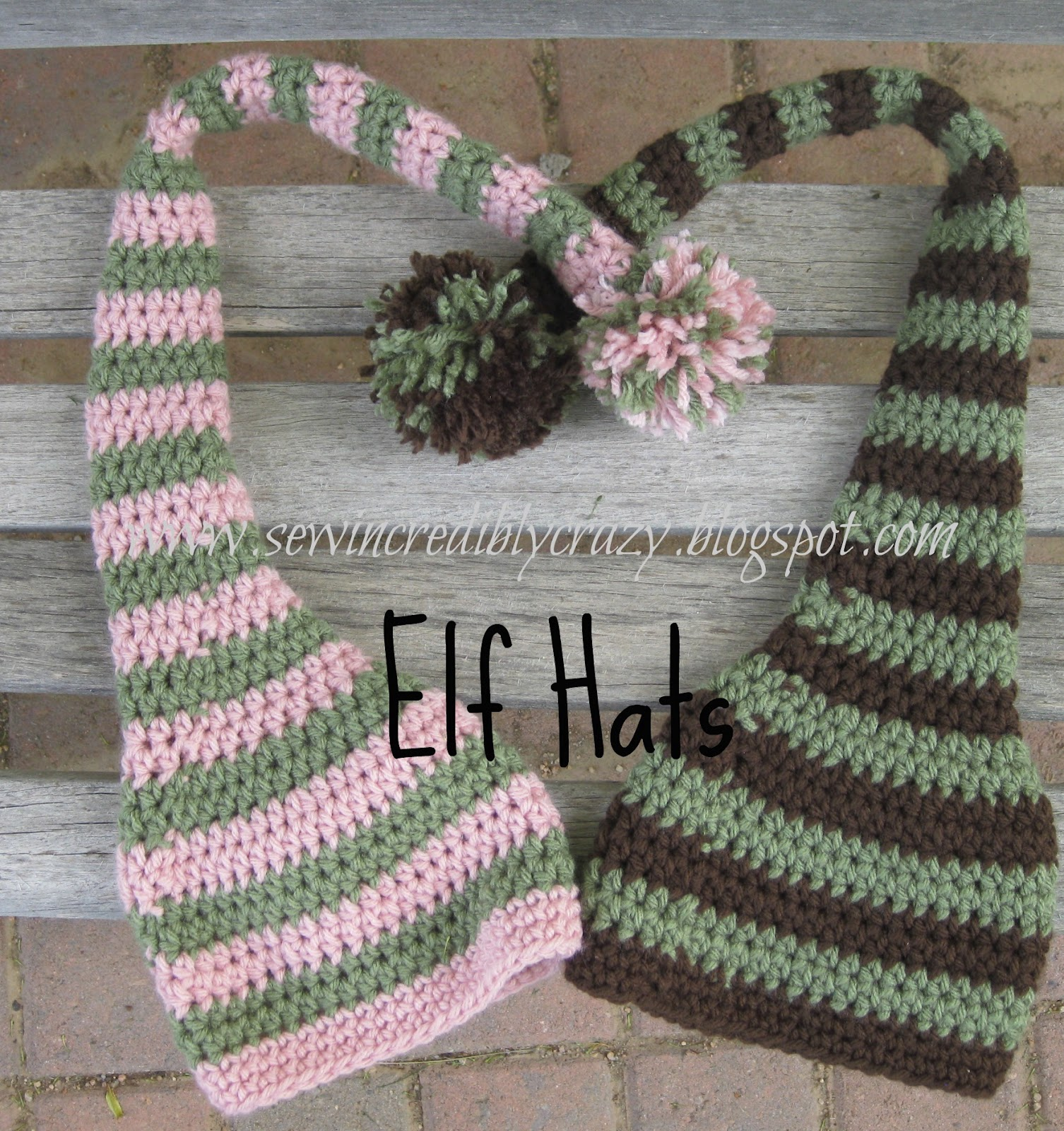 Sew Incredibly Crazy: Newborn Elf Hat