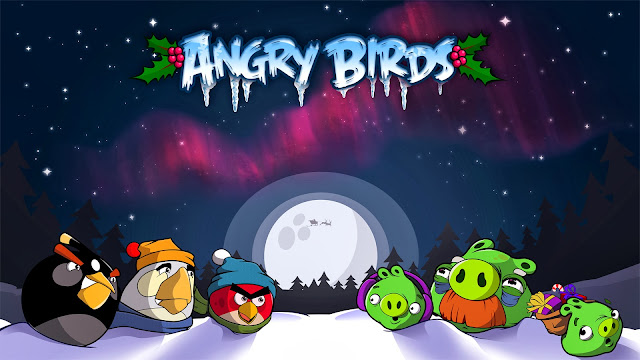 angry birds seasons HD Wallpaper