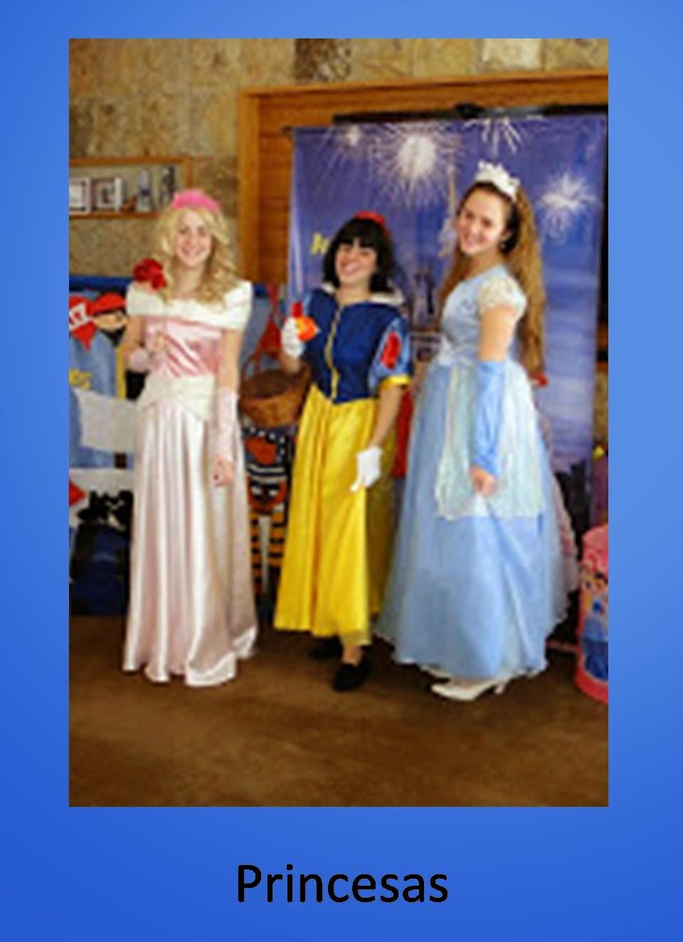 animacion princesas