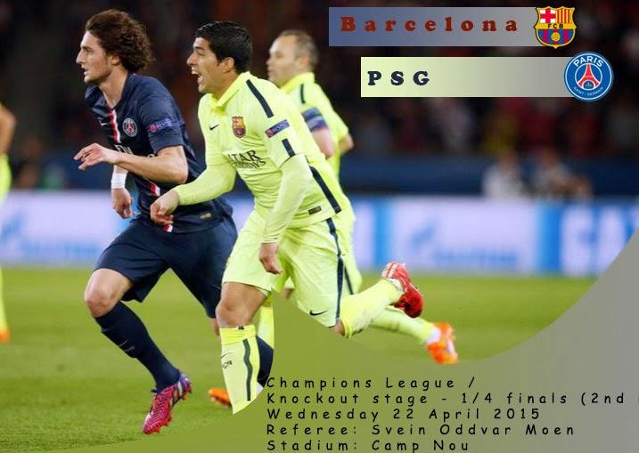 Preview : Barcelona vs PSG (Agg 3-1)