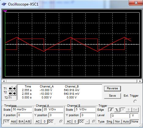 Technological Skills Integrator Amplifier Circuit Project