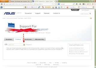 cara download driver asus