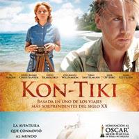 """""""UN VIAJE FANTÁSTICO"""" (""""Kon Tiki"""" de Joachim Rønning y Espen Sendberg, 2012)."""