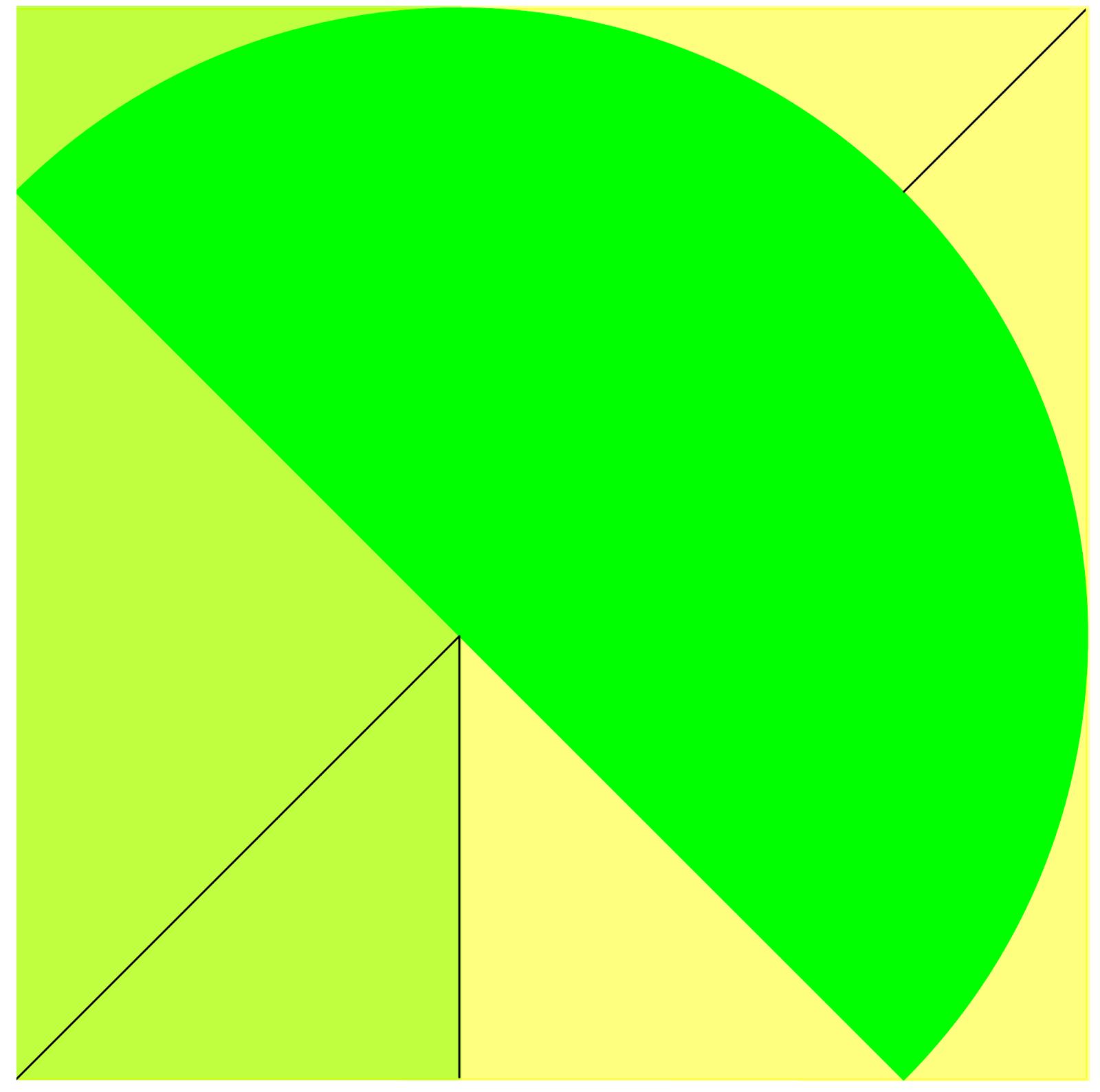 Semicircle The biggest semicircle.
