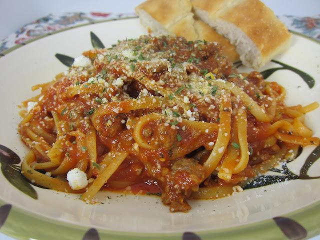 how to cook plain spaghetti