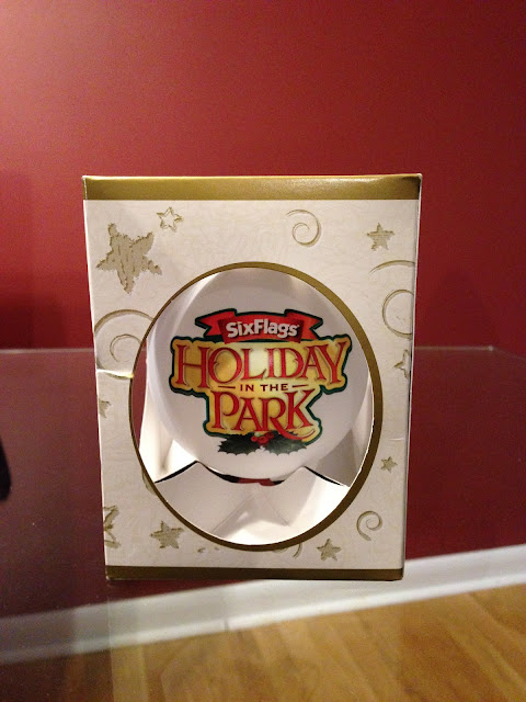 six flags great adventure holiday in the park christmas ornament