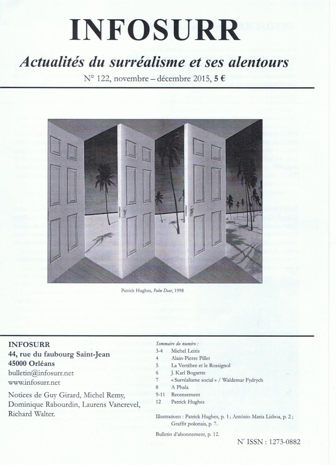 REVUE A PHALA, N° 3, Présentation par Richard WALTER, INFOSURR (Actualités du surréalisme.)