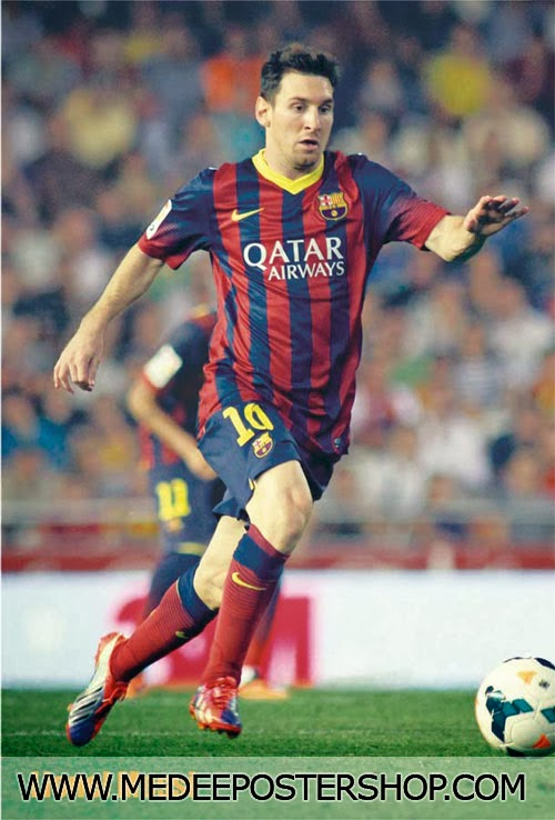 Lionel Andres Messi Poster