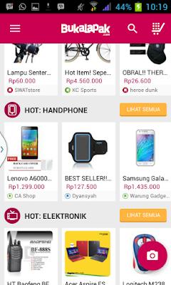 Aplikasi Smartphone Bukalapak