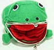 Image: Naruto Cute Green Frog Coin Bag Cosplay Props Plush Toy Purse Wallet Funny Gift
