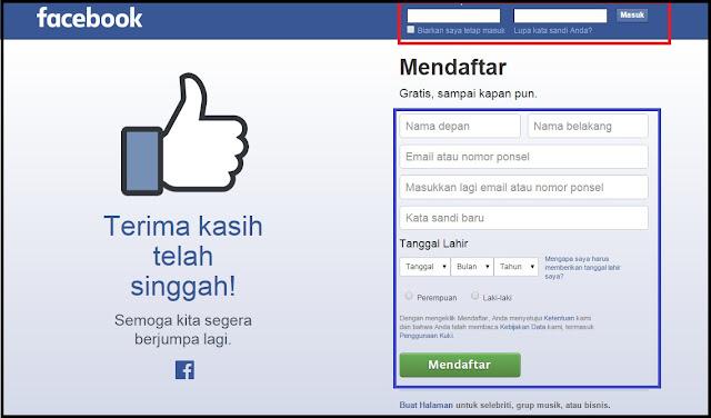 Cara Mendaftar Akun Facebook 2016 Terbaru