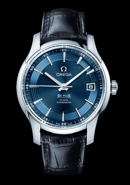 omega deville hour vision blue review