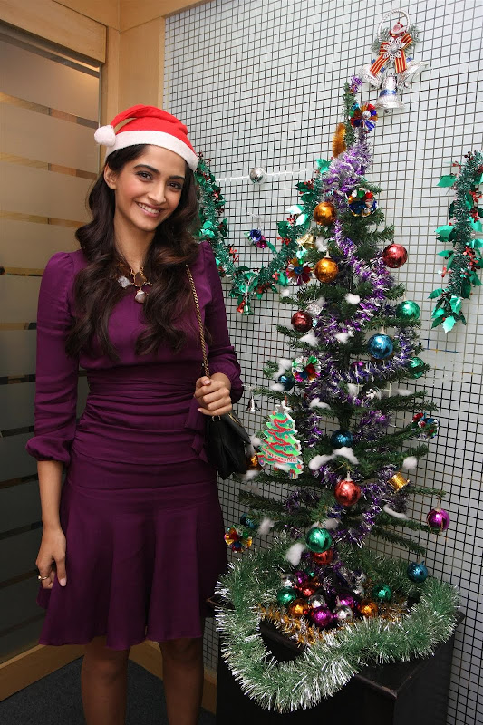 Sonam Kapoor Photoshoot for Christmas Event show stills