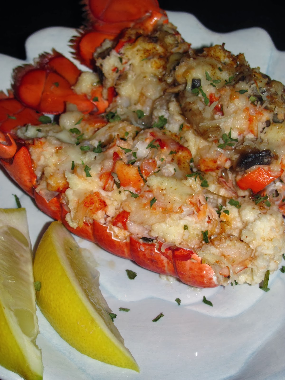 For the Love of Food: Charlie's Birthday Lobster Thermidor