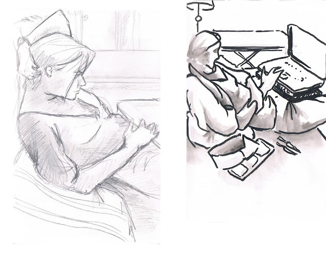 manu lafay dessins croquis observation