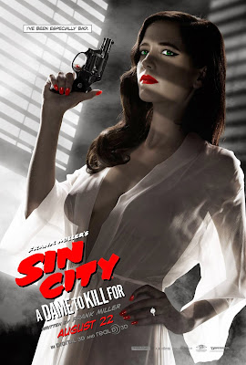 eva green shows boobs for sin city sequel poster