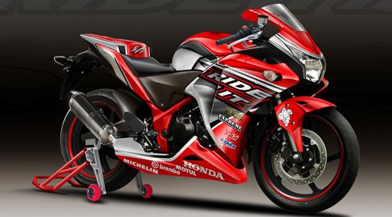 modifikasi cbr 250 cc  tahun ini
