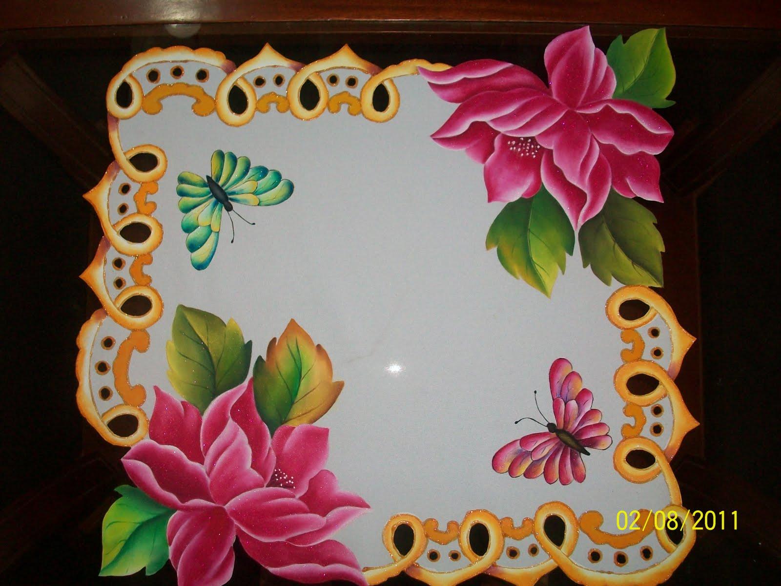 Amararte manualidades pintura en tela carpetas cuadros - Pintura en tela dibujos ...
