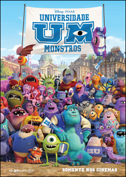 Universidade Monstros (Dual Audio) HDRip XviD