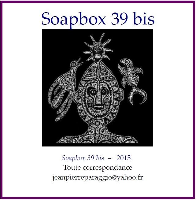 SOAPBOX 39 bis, AUTOMNE 2015, FEUILLET de L'UMBO