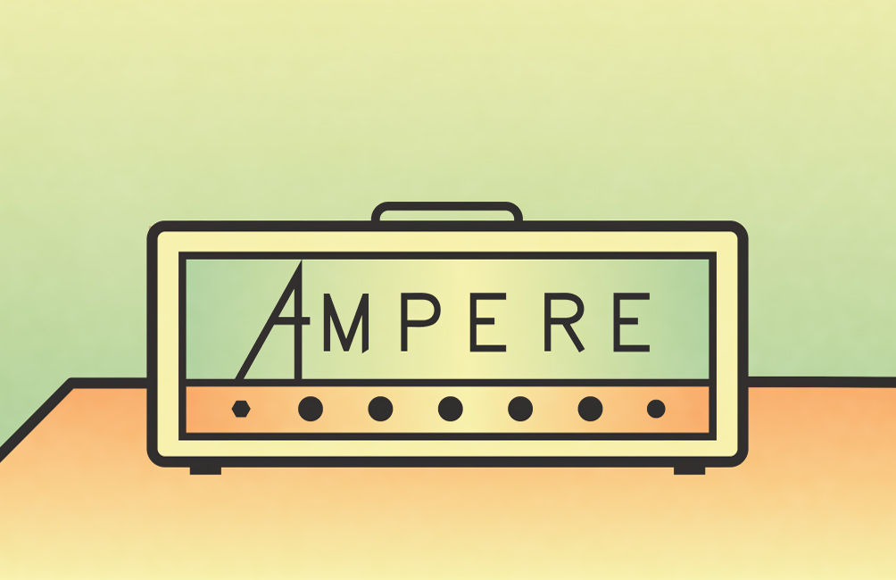 Amps (and instruments) taken care by: